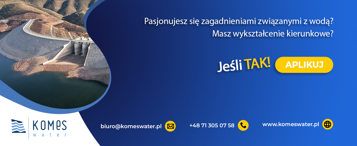 Poszukujemy do naszego zespołu Specjalistę ds. gospodarki wodnej